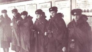 Старое фото военных