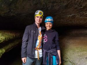 Фото в пещере Ветра на Тенерифе