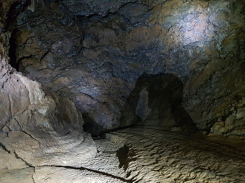Пещера Куэва-дель-Вьенто на Тенерифе