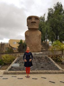 Экспозиция острова Пасхи на Тенерифе