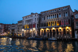 Вечерние каналы Венеции