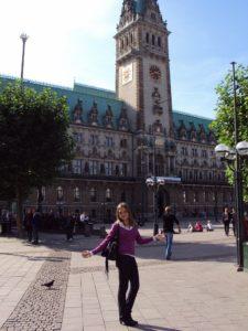 Приезд в Гамбург