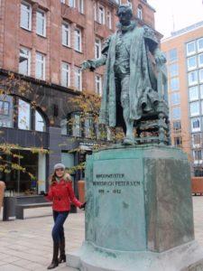 Славянка в Гамбурге
