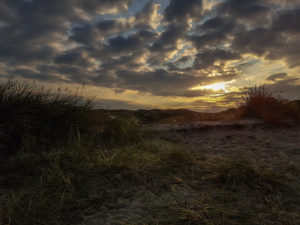 Закат на острове зюльт