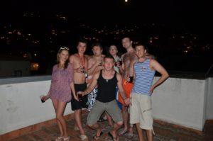 отдых в Испании с друзьями